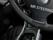 Pour Nissan Note MK1 2004-2012 Volant en cuir couverture Gris Double surpiqûres