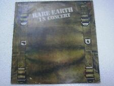 RARE EARTH IN CONCERT RARE LP TAMPLA record vinyl INDIA INDIAN EX