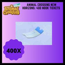 Animal Crossing New Horizon   400 Nook Mile Tickets!