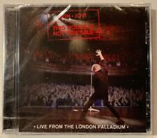 BON JOVI This House Is Not For Sale: Live From London Palladium (Island CD) New