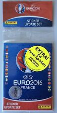 Panini EURO 2016 - sealed update multipack - 84 stickers NEW