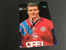 ROLAND GRAHAMMER In-Person FC BAYER MÜNCHEN signed Photo 10x15