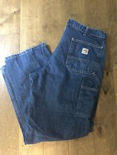 Men's Carhartt Dungaree Jeans 38 x 32 - FR Rated