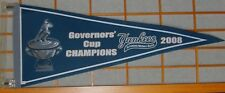 SWB Scranton Wilkes Barre Yankees 2008 Champions Pennant MiLB NY RailRiders