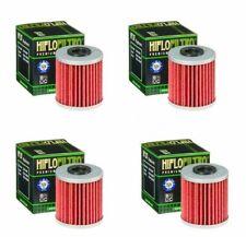 4 Pack HiFloFiltro Oil Filters For 2010-2011/2017/2019 Suzuki RMX450Z RMX 450Z