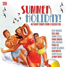 -Summer Holiday!: 40 Sunny Songs From A Golden Era CD   New