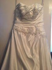 D Zage ivory wedding dress size 14