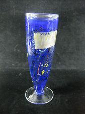 TOP ! - KOSTA BODA Designer Vase mit Blattsilberauflage 29,5 cm - Bertil Vallien