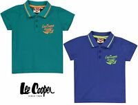 LEE COOPER Polo 100% Coton Garçon Enfant