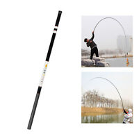 Carbon Fiber Telescopic Fishing Rod 2.7-7.2 Meters Stream Fly Fishing Hand Pole