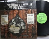 Country Lp Je Mainer More Old Tim Mountain Music On Rural Rhythm