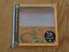 Hawkwind:s/t [1st] SHM CD Japan Mini-LP TOCP-95059 SS(hawklords rooster atomic Q