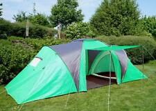 Tente de camping Loksa, 6 personnes, bivouac / igloo, tente pour festival ~ vert