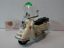 """Schuco 06539 - Heinkel Roller 103 A 2 Baujahr 1963-1976 """"Polizei"""" in weiß 1:10"""