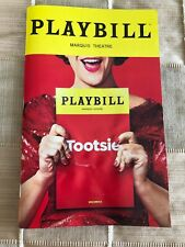 Tootsie Broadway Playbill May 2019 with Ticket