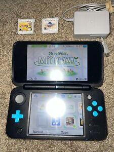 Nintendo 2DS XL Black/Turquoise Handheld System With Zelda