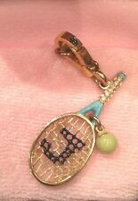 Original Racquet Charm Juicy Couture Gold