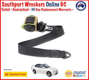 Holden Commodore VT VX VY VZ Sedan Seat Safety Belt Black Right Front Drivers