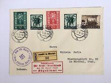 Propaganda Brief mit Mischfrankatur Volksabstimmung 10. April 1938 Österreich