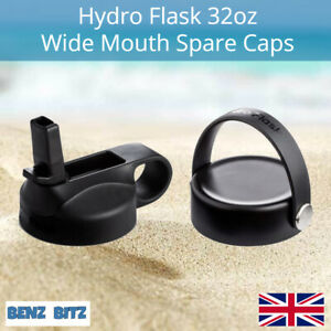 Hydro Flask Wide Mouth Thermal Water Bottle Spare Replacement Cap 32oz 40oz
