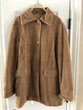 MAX MARA Camel/ Carmel Colored Alpaca Wool Blend Women Over Coat Size 8 USA