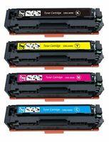 4Pk 045H 045 Toner Cartridge For Canon Color imageCLASS MF634Cdw MF632Cdw LBP612