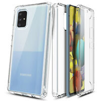 For Samsung Galaxy A71 5G UW Full Body Phone Case With Built-In Screen Protector