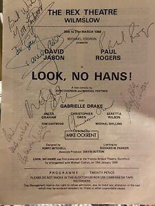 david jason signed theatre programme