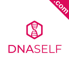 DNASELF.com 7 Letter Catchy Brandable Premium Domain Name for Sale Godaddy