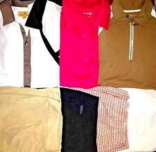Womens Golf Clothes LOT OF 8 PCS. Size M/8 Izod Golf Sport/Haley/Liz Golf/Aspire