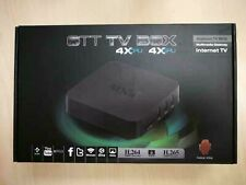 MXQ OTT Android 4.4 TV Box Internet TV 4x CPU 4x GPU H.264 H.265 1080P Full HD