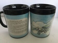 Mug Aviation The Spirit Of St. Louis Cup Plastic Vintage Linbergh Planes (2)