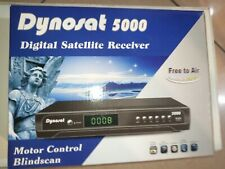 DYNOSAT5000, FTA Digital Satellite Receiver for TV/Radio, 2500 Channel, NTSC/PAL