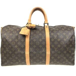 100% authentic Louis Vuitton Keepall Bandouliere 50 M41416 [Used] {04-0355}
