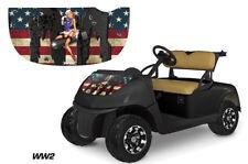 AMR Racing EZ Go Freedom RXV Golf Cart Hood Graphics Kit Sticker Wrap Decal WW2
