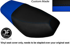 BLACK AND ROYAL BLUE VINYL CUSTOM FITS CPI OLIVER SPORT 50 DUAL SEAT COVER ONLY