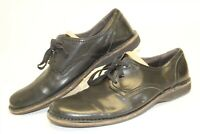 John Varvatos Mens 11.5 M Black Leather Lace Up Oxford Dress Casual Shoes