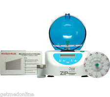LW Scientific ZIPCombo ZIPOCRIT Centrifuge w/12x Hematocrit Rotor, ZCC-12HD-40T3