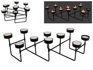 Expandle Tea Light Candle Holder- Holds 10 - Free Tea Light candle included