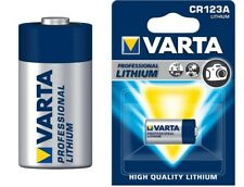 Original Varta blister batería cr123a/cr17345 Battery 1600mah litio (Li/CR)