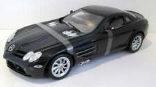 MOTOR MAX 73014K MERCEDES BENZ SLR McLAREN diecast model road car black 1:12th