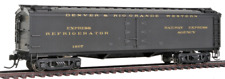 """HO Scale - BROADWAY LIMITED 1827 D & RGW GACX 53'6"""" Wood Express Reefer Car"""