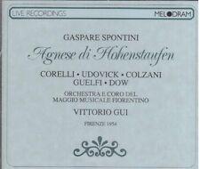 Spontini: Agnes von Hohenstaufen / Gui, Corelli, Udovick, Firenze 1954 - CD