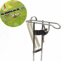 Automatic Double Spring Angle Fish Pole Tackle Bracket Rest Fishing Rod Holder