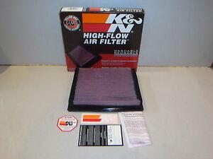 K&N AIR FILTERS 1977-2011 HOLDEN COLORADO ISUZU VAUXHALL FORD & OPEL - KN33-2013