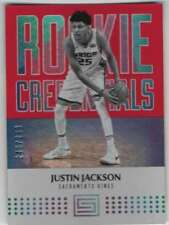 2018-19 Panini Hoops púrpura #67 Justin Jackson-Sacramento Reyez