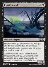 MTG Magic M15 - (4x)  Accursed Spirit/Esprit maudit, French/VF