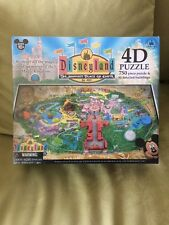 NEW AND SEALED Disneyland Park 4D 750 PIECES/50 Bldgs Puzzle-RARE & SOLD OUT