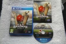 DON BRADMAN CRICKET 17 PS4 V.G.C. FAST POST ( sports/cricket simulation game )