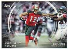 2015 Topps Football Fantasy Focus #FF ME Mike Evans Tampa Bay Buccaneers